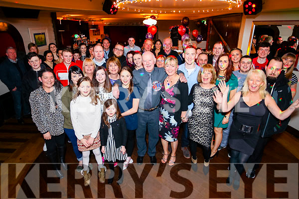 Joe Tobin, Gallowsfield, Tralee, who celebrated his 60th birthday with family and friends at Benners Hotel, Tralee on Saturday night last.