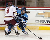 Megan Keller (BC - 4), Alyson Matteau (Maine - 7) - The Boston College Eagles defeated the visiting University of Maine Black Bears 2-1 on Saturday, October 8, 2016, at Kelley Rink in Conte Forum in Chestnut Hill, Massachusetts.  The University of North Dakota Fighting Hawks celebrate their 2016 D1 national championship win on Saturday, April 9, 2016, at Amalie Arena in Tampa, Florida.