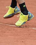 May 23, 2016:  Stan Wawrinka (SUI) defeated Lucas Rosol (CZE) 4-6, 6-1, 3-6, 6-3, 6-4, at the Roland Garros being played at Stade Roland Garros in Paris, .  ©Leslie Billman/Tennisclix/CSM