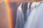 Rainbow by Victoria Falls, Zimbabwe