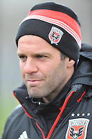 Ben Olsen Head Coach of D.C. United at the pre-season practice on the auxiliary fields at RFK Stadium, Thursday February 28, 2013.
