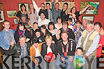 Happy Birthday - Mary O'Flaherty from Ballyheigue, seated centre, pictured having a wonderful time with friends and family at her 50th birthday party held in An Tochar Ba?n, Kilmoyley on Friday night............................................................................................................................................................................................................................................................................................................. ............