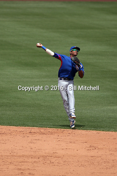Yeiler Peguero - Chicago Cubs 2016 extended spring training (Bill Mitchell)