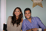 General Hospital Lindsey Morgan & Erik Valdez at SoapFest's Celebrity Weekend -  A Night of Stars and Celebrity Karaoke Bar Bash - autographs, photos, live auction raising money for kids on November 10, 2012 at Bistro Soleil at Old Historic Marco  Island, Florida. (Photo by Sue Coflin/Max Photos)