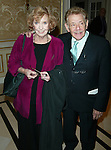 ANNE MEARA and JERRY STILLER<br /> Attending the Signature Theatre Company<br /> Honors Event at the Essex House, New York City.<br /> May 5, 2003