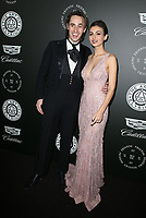 SANTA MONICA, CA - JANUARY 6: Reeve Carney and Victoria Justice at Art of Elysium's 11th Annual HEAVEN Celebration at Barker Hangar in Santa Monica, California on January 6, 2018. <br /> CAP/MPI/FS<br /> &copy;FS/MPI/Capital Pictures
