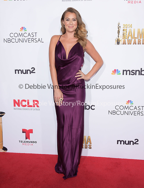 Alexa Pena Vega attends The 2014 NCLR Alma Awards held at The Pasadena Civic Center in Pasadena, California on October 10,2014                                                                               © 2014 Hollywood Press Agency