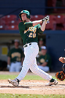 March 14, 2010:  First Baseman Zach Wentz (20) of North Dakota State University Bison vs. Akron University at Chain of Lakes Park in Winter Haven, FL.  Photo By Mike Janes/Four Seam Images