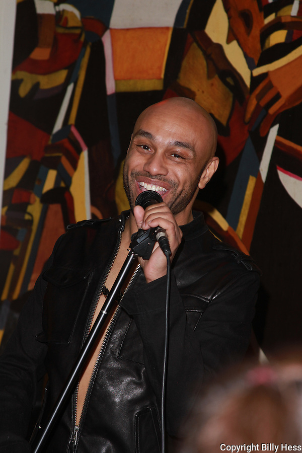 Recording Artist Aaron Paul, former lead singer of  UK boy band Worlds Apart