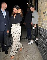 Priyanka Chopra And Nick Jonas At Chiltern Firehouse
