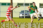 Brian Maguire  Kerry in action against   Cork IT in the semi final of the McGrath Cup at John Mitchells Grounds on Sunday.