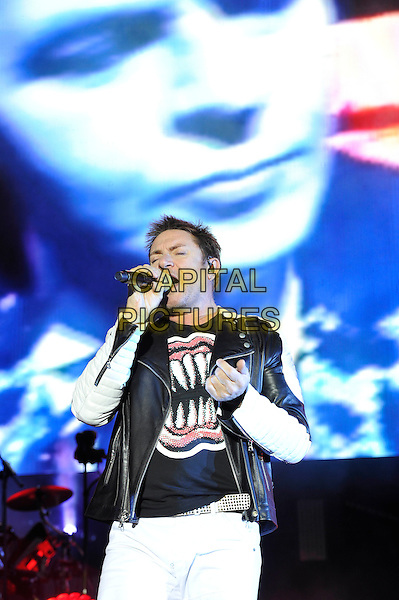 SOUTHAMPTON, ENGLAND - MAY 29: Simon Le Bon of 'Duran Duran' performing at Common People Festival, Southampton Common on May 29, 2016 in London, England.<br /> CAP/MAR<br /> &copy;MAR/Capital Pictures