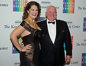 Sondra Radvanovsky and Duncan Law arrive for the formal Artist's Dinner honoring the recipients of the 2013 Kennedy Center Honors hosted by United States Secretary of State John F. Kerry at the U.S. Department of State in Washington, D.C. on Saturday, December 7, 2013. The 2013 honorees are: opera singer Martina Arroyo; pianist,  keyboardist, bandleader and composer Herbie Hancock; pianist, singer and songwriter Billy Joel; actress Shirley MacLaine; and musician and songwriter Carlos Santana.<br /> Credit: Ron Sachs / CNP