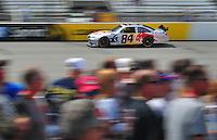 May 2, 2008; Richmond, VA, USA; NASCAR Sprint Cup Series driver A.J. Allmendinger during practice for the Dan Lowry 400 at the Richmond International Raceway. Mandatory Credit: Mark J. Rebilas-