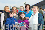 FAMILY: Enjoying the North Kerry Harriers Point to Point Races in Ballybunion on Saturday. Front l-r: Pierce and Rebecca O'Sullivan. Back l-r: Caddie Sparatta, Eimear O'Sullivan, Killian and Margaret Scanlon and Kathleen Barrett (Ballybunion).................................. ....