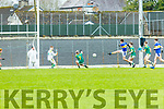 Cian Purcell Tralee CBS blasts his shot goalwards during  the Corn Uí Mhuire final in Fitzgerald Stadium on Saturday