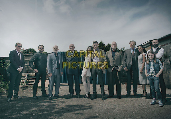 Steven Berkoff, Charlotte Hope, Elliott Tittensor, Bernard Hill, Freema Agyeman<br /> in North v South (2015)  <br /> *Filmstill - Editorial Use Only*<br /> CAP/NFS<br /> Image supplied by Capital Pictures