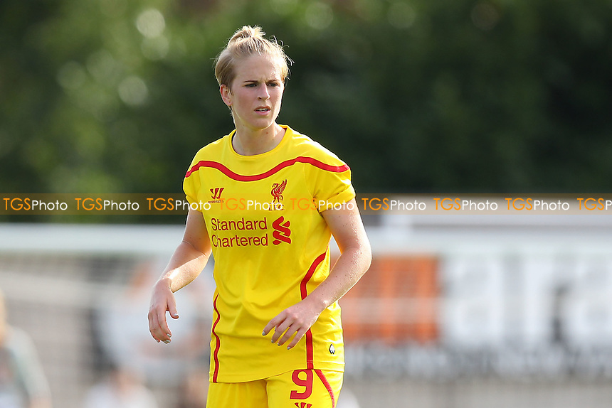Natasha Dowie of Liverpool Ladies - Arsenal Ladies vs Liverpool Ladies - FA Womens Super League Football at Meadow Park, Boreham Wood FC  - 05/10/14 - MANDATORY CREDIT: Gavin Ellis/TGSPHOTO - Self billing applies where appropriate - contact@tgsphoto.co.uk - NO UNPAID USE