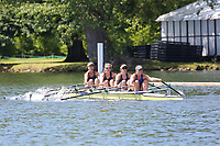 Race: 10  Event: Aspirational 4x<br /> Crew: 200  Club: Fulham Reach/ Sons of the Thames<br /> <br /> Henley Women's Regatta 2018<br /> Friday<br /> <br /> To purchase this photo, or to see pricing information for Prints and Downloads, click the blue 'Add to Cart' button at the top-right of the page.