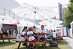 The Sevens Village during HSBC Hong Kong Rugby Sevens 2017 on 07 April 2017 in Hong Kong Stadium, Hong Kong, China. Photo by Marcio Rodrigo Machado / Power Sport Images