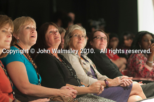 The audience, Fashion Show at Further Education College.