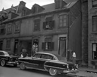 Red Light. Rue Sanguinet. 1957. Archives de la Ville de Montréal.