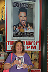 "Gina - The Bold and The Beautiful Don Diamont signed his book ""My Seven Sons and How We Raised Each Other""  - They only drive me crazy 30% of the time - for fans after a Q and A on May 31, 2018 at Books & Greetings in Northvale, New Jersey.  (Photo by Sue Coflin/Max Photo)"
