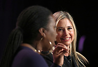 LOS ANGELES, CA - NOVEMBER 2: Tarana Burke, Mira Sorvino, at TheWrap's Power Women's Summit Inside at the InterContinental Hotel in Los Angeles, California on November 2, 2018. Credit: Faye Sadou/MediaPunch