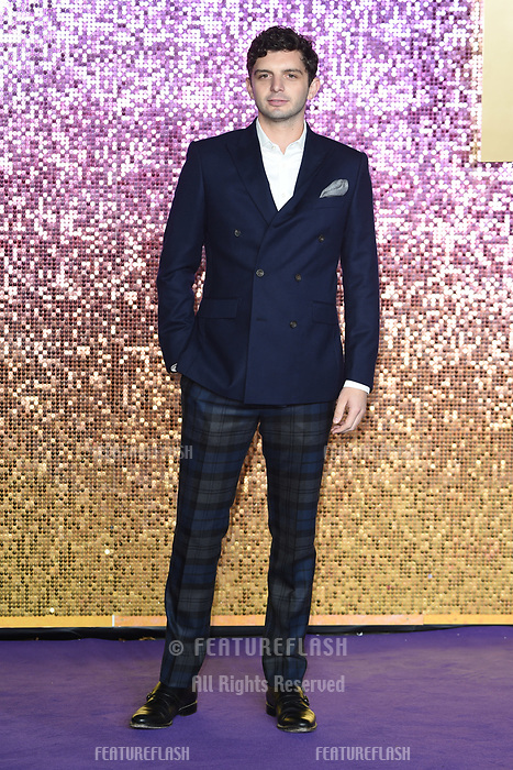 "LONDON, UK. October 23, 2018: Michael Fox at the world premiere of ""Bohemian Rhapsody"" at Wembley Arena, London.<br /> Picture: Steve Vas/Featureflash"
