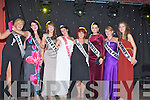 QUEEN CONTESTANTS: The 2011 Queen of Ballyheigue Summer Festival 2011 been congratulated by fellow contestants. L-r: Nicole O'Sullivan (Tides), Gemma O'Regan (Londis), Marie Russell (Collettes Hair Salon), Niamh Tynan (2011 Queen of Ballyheigue Summer Festival), Shauna Kenny (Family Family Resource Centre), Sarah Carey (Brassill), Rachel Boyle (Marian Park) and Tara Buckley (Kirbys)............