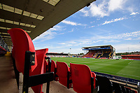 A general view of Sincil Bank, home of Lincoln City<br /> <br /> Photographer Chris Vaughan/CameraSport<br /> <br /> The EFL Sky Bet League One - Lincoln City v Fleetwood Town - Saturday 31st August 2019 - Sincil Bank - Lincoln<br /> <br /> World Copyright © 2019 CameraSport. All rights reserved. 43 Linden Ave. Countesthorpe. Leicester. England. LE8 5PG - Tel: +44 (0) 116 277 4147 - admin@camerasport.com - www.camerasport.com