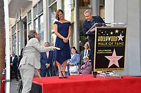 LOS ANGELES, CA. August 20, 2018: Bryan Cranston, Jennifer Garner & Steve Carell at the Hollywood Walk of Fame Star Ceremony honoring actress Jennifer Garner.