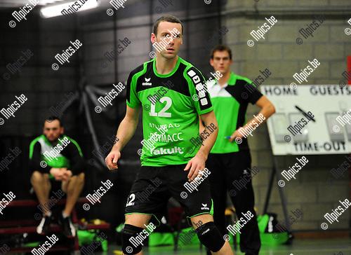 2014-11-29 / Volleybal / seizoen 2014-2015 / Mendo Booischot / Bob Douwen<br /><br />Foto: mpics.be
