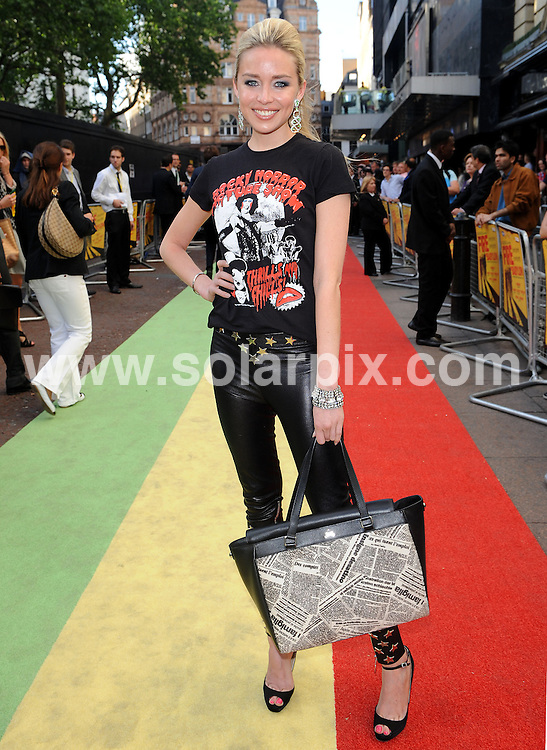 **ALL ROUND PICTURES FROM SOLARPIX.COM**                                             **WORLDWIDE SYNDICATION RIGHTS**                                                                                   The European premiere of 'Fire In Babylon'.  Held at the Odeon, Leicester Square, London, on Monday May 09, 2011..This pic:     Noelle Reno                                                                                          JOB REF:     13310   SSD       DATE:    09.05.11                                                        **MUST CREDIT SOLARPIX.COM OR DOUBLE FEE WILL BE CHARGED**                                                                      **MUST AGREE FEE BEFORE ONLINE USAGE**                               **CALL US ON: +34 952 811 768 or LOW RATE FROM UK 0844 617 7637**