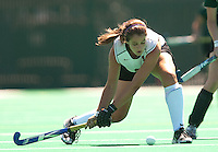 STANFORD, CA - SEPTEMBER 6: Becky Dru plays against Michigan State on September 6, 2010 in Stanford, California.