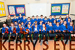 Junior Entrepreneur : 5th & 6th Classes from Kilflynn NS pictured at the launch of their CD to showcase their Junior Entrepreneur Project at their school with their teacher Miss Mary Cremmin on Friday last.