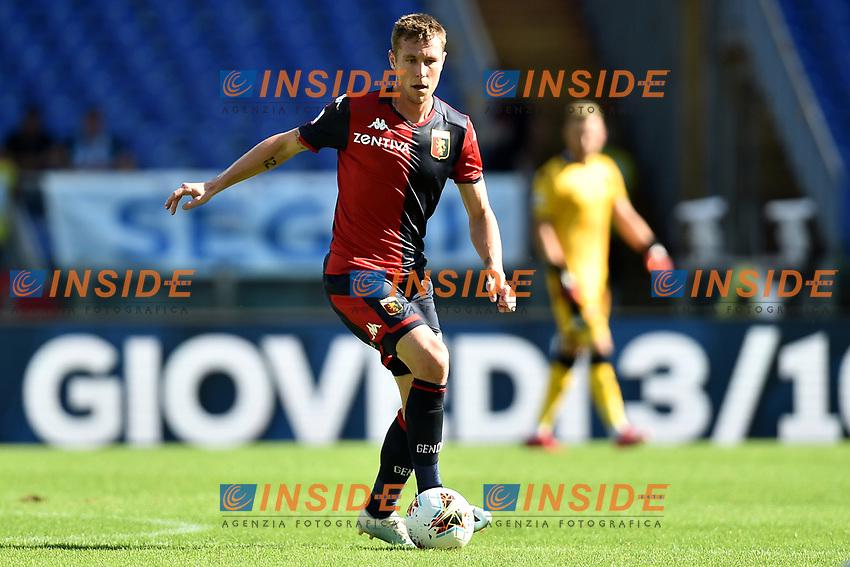 Lukas Lerager of Genoa <br /> Roma 29-9-2019 Stadio Olimpico <br /> Football Serie A 2019/2020 <br /> SS Lazio - Genoa CFC <br /> Foto Andrea Staccioli / Insidefoto