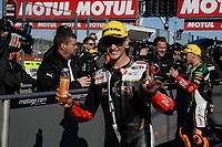 16th November 2019; Circuit Ricardo Tormo, Valencia, Spain; Valencia MotoGP, Qualifying Day; Moto3 rider Jaume Masia (mugen race) 3rd classified  - Editorial Use