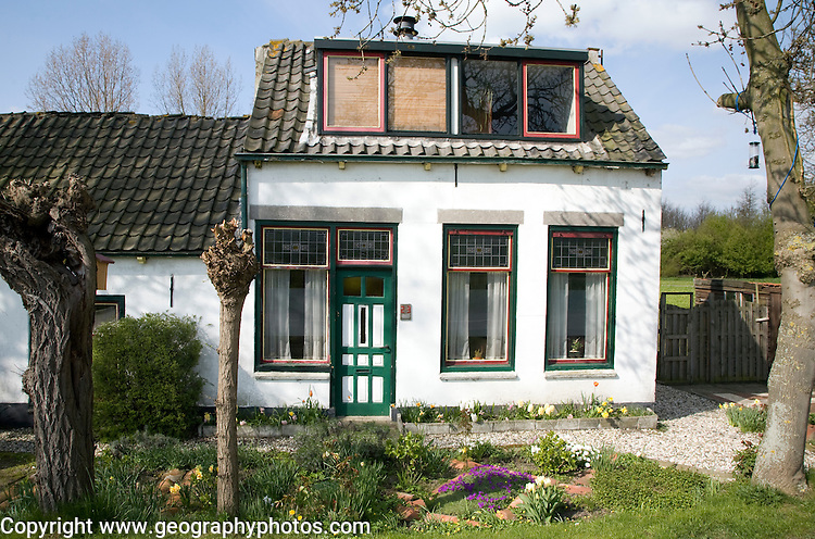 Old traditional house, Maasluis, Netherlands