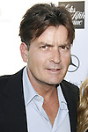 Charlie Sheen arrives at 7th Annual Chrysalis Butterfly Ball on May 31, 2008 at a Private Residence in Los Angeles, California.
