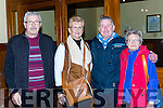 Denis and Evelyn O'Donoghue, Denis and Noreen Brosnan at the Veronica McCarron concert  the Castleisland Presentation  Convent choir in St Stephen and John church Castleisland on Monday