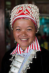 Ethnic Hmong woman, Northern Vietnam.