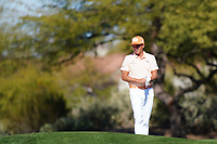 Rickie Fowler (USA) In action during the final round of the Waste Management Phoenix Open, TPC Scottsdale, Phoenix, Arizona, USA. 01/02/2020<br /> Picture: Golffile | Phil INGLIS<br /> <br /> <br /> All photo usage must carry mandatory copyright credit (© Golffile | Phil Inglis)