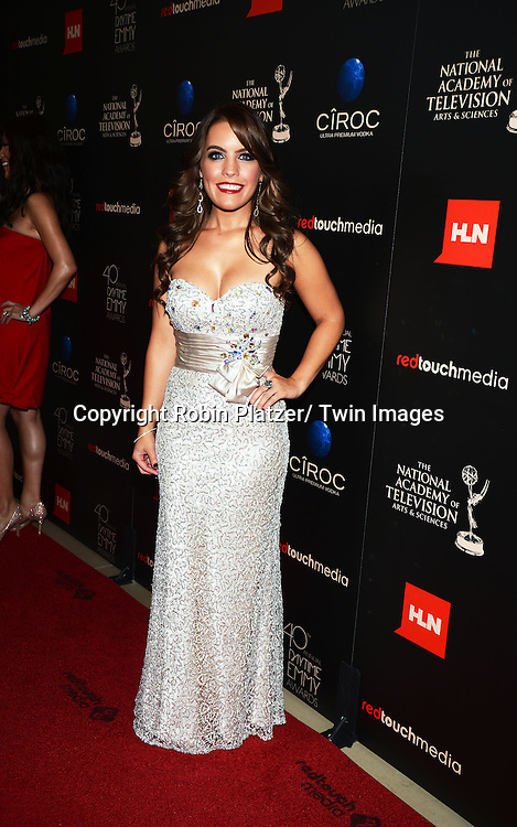 Kristen Alderson attends The 40th Annual Daytime Emmy Awards on<br />  June 16, 2013 at the Beverly Hilton Hotel in Beverly Hills, California.