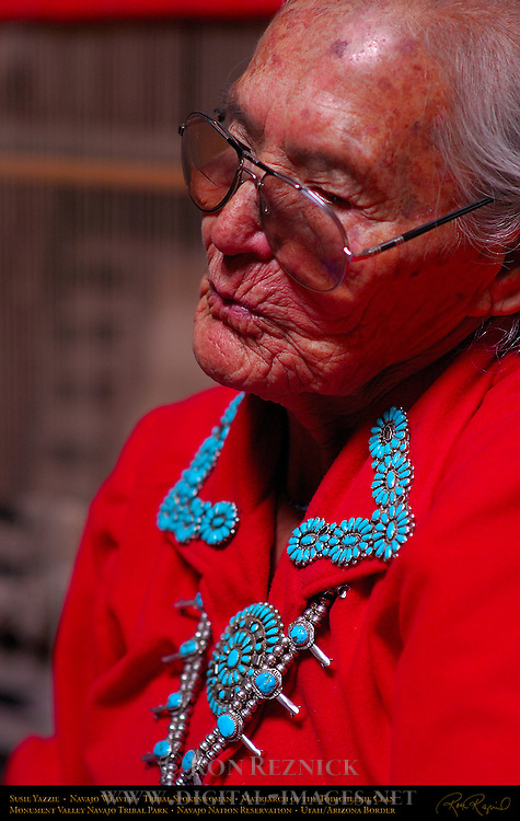 Susie Yazzie, Matriarch of the Navajo Todicheenie Clan, Monument Valley Navajo Tribal Park, Navajo Nation Reservation, Utah/Arizona Border