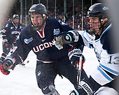 Benjamin Freeman (UConn - 24), Nolan Vesey (Maine - 13) - The University of Maine Black Bears defeated the University of Connecticut Huskies 4-0 at Fenway Park on Saturday, January 14, 2017, in Boston, Massachusetts.