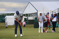 Brooks Koepka (USA) putts on the 8th green during Friday's Round 2 of the 118th U.S. Open Championship 2018, held at Shinnecock Hills Club, Southampton, New Jersey, USA. 15th June 2018.<br /> Picture: Eoin Clarke | Golffile<br /> <br /> <br /> All photos usage must carry mandatory copyright credit (&copy; Golffile | Eoin Clarke)