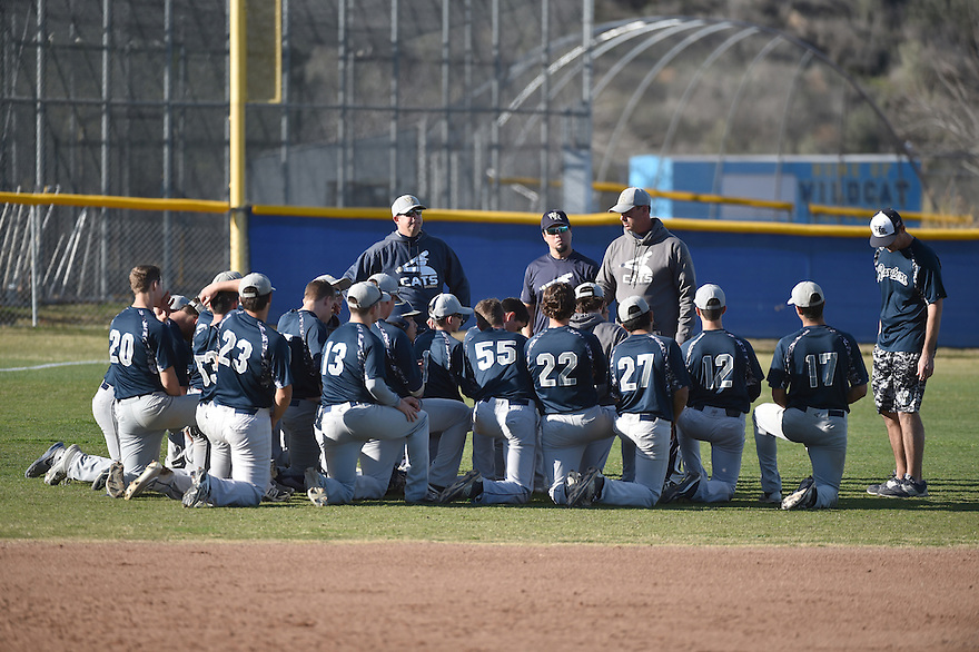 West Ranch High School Baseball Sunday, January 24, 2016. Photo by ©Jon SooHoo/2016