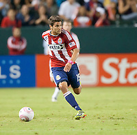 CARSON, CA – OCTOBER 9: Chivas USA midfielder Sal Zizzo (15) during a soccer match at Home Depot Center, October 9, 2010 in Carson California. Final score Chivas USA 3, Toronto FC 0...