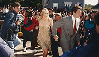 1993 <br /> John F. Kennedy Jr. Daryl Hannah<br /> Photo By John Barrett-PHOTOlink.net/MediaPunch